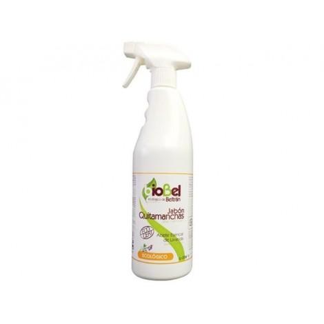 Jabón Quitamanchas Ecológico con aceite esencial de lavanda.