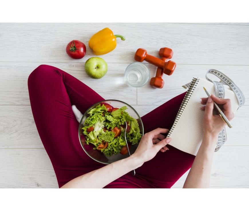 La salud es el resultado de hábitos sanos